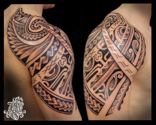 tatouage polynesien polynesian tattoo mix polynesien. Black Bedroom Furniture Sets. Home Design Ideas