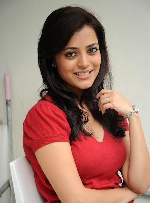 Telugu Actress Nisha Agarwal Sexy Boobs and Cleavage Show Stills Photoshoot images