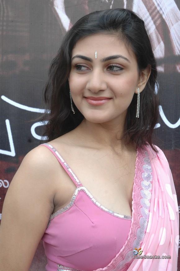 , Neelam Hot Pics in Pink Saree
