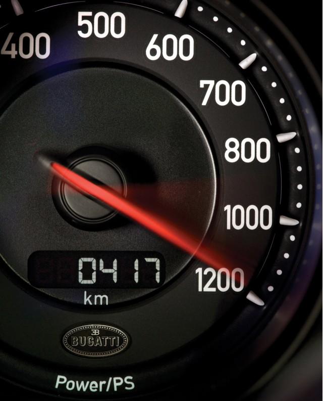 Bugatti top speed record
