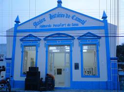 Desenho Arquitetonico on Fachada Do Pr  Dio Que Abriga O Museu Hist  Rico De Camet   Pa