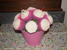 Vasinho de cupcakes...