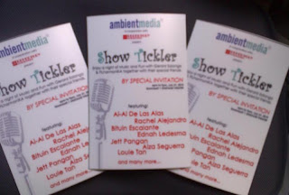Win Concert Tickets to Ambient Media's Show Tickler on July 31!