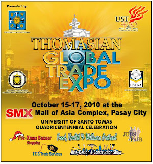 1st Thomasian Global Trade Expo (Oct. 15 - 17)