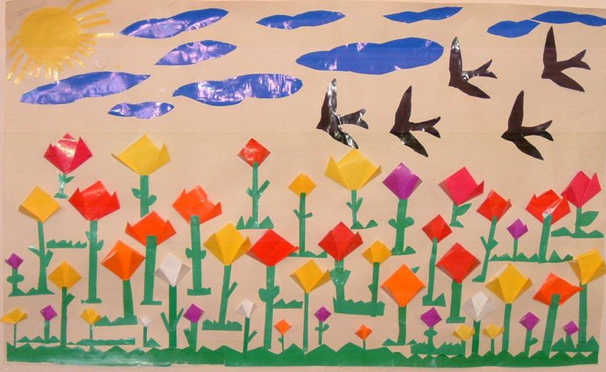 Well Known Painel De Primavera Educação Infantil Wy44 Ivango
