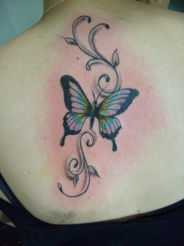 tattoo de borboletas. tattoos de orboletas!