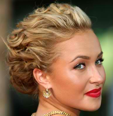 updo hairstyles medium length hair. medium length hair updos.