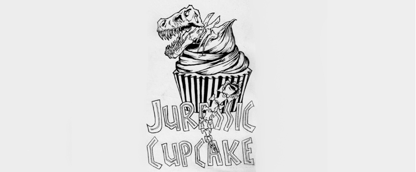 JURASSIC CUPCAKE