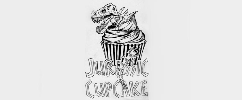 JURASSIC CUPCAKE
