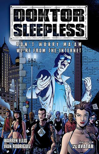Doktor Sleepless This Was A Series That Mixture Of Warren Ellis Technology Rants Dsytopian Future Where People Disappointed With The Era They Live