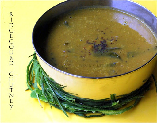 Ridgegourd  gravy for rice