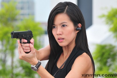 "RUI EN (as Hu Xiaoman ) in "" Unriddle(最火搭档) ""."