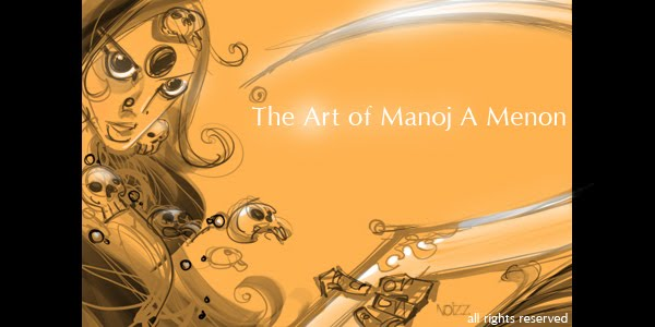 art of Manoj A Menon