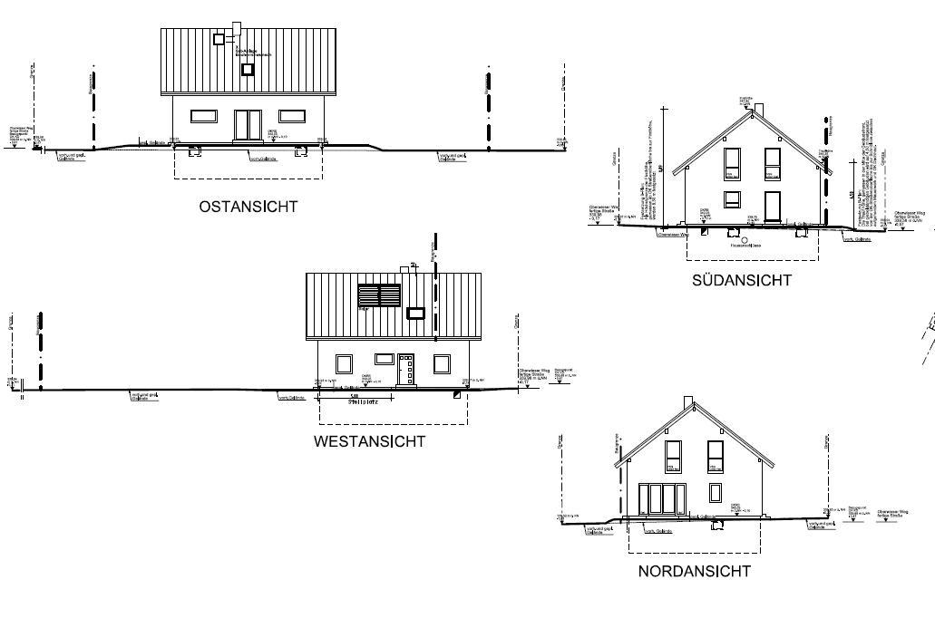 fertighaus von fingerhaus ausf hrungspl ne. Black Bedroom Furniture Sets. Home Design Ideas