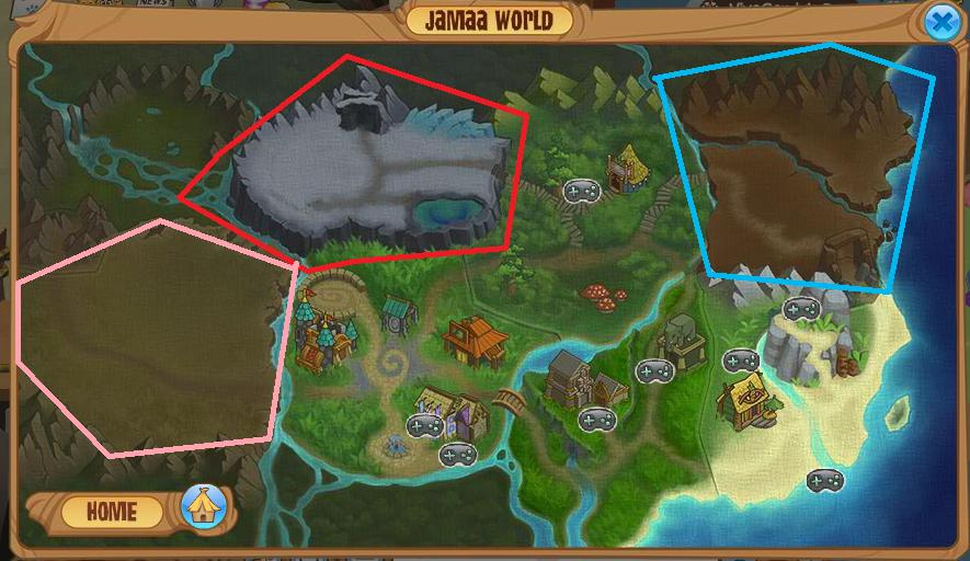 Animal Jam Beta Map
