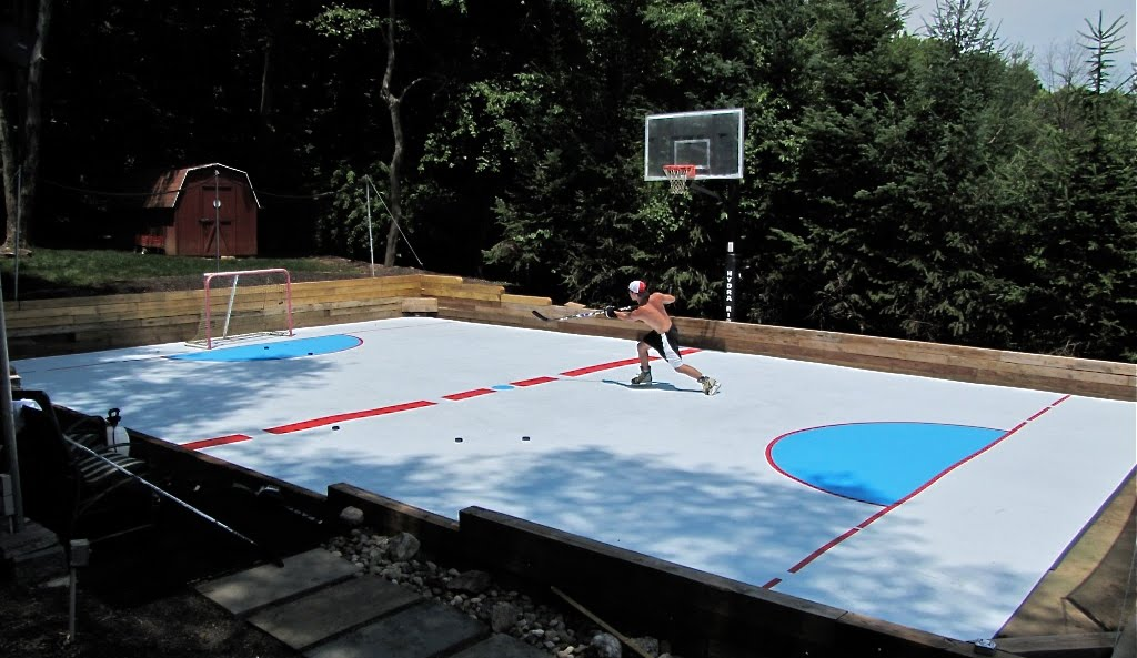 Tarp For Backyard Rink : Backyard Rink