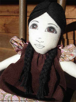 first Dawn Doll close-up