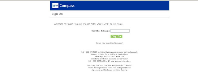Compass Bank - Online Banking Login - www.bbvacompass.com