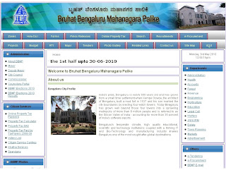 www.BBMP.gov.in Bangalore Property Tax Payment Online