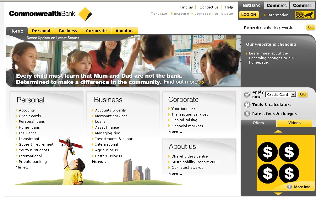 Au NetBank - Commonwealth Bank