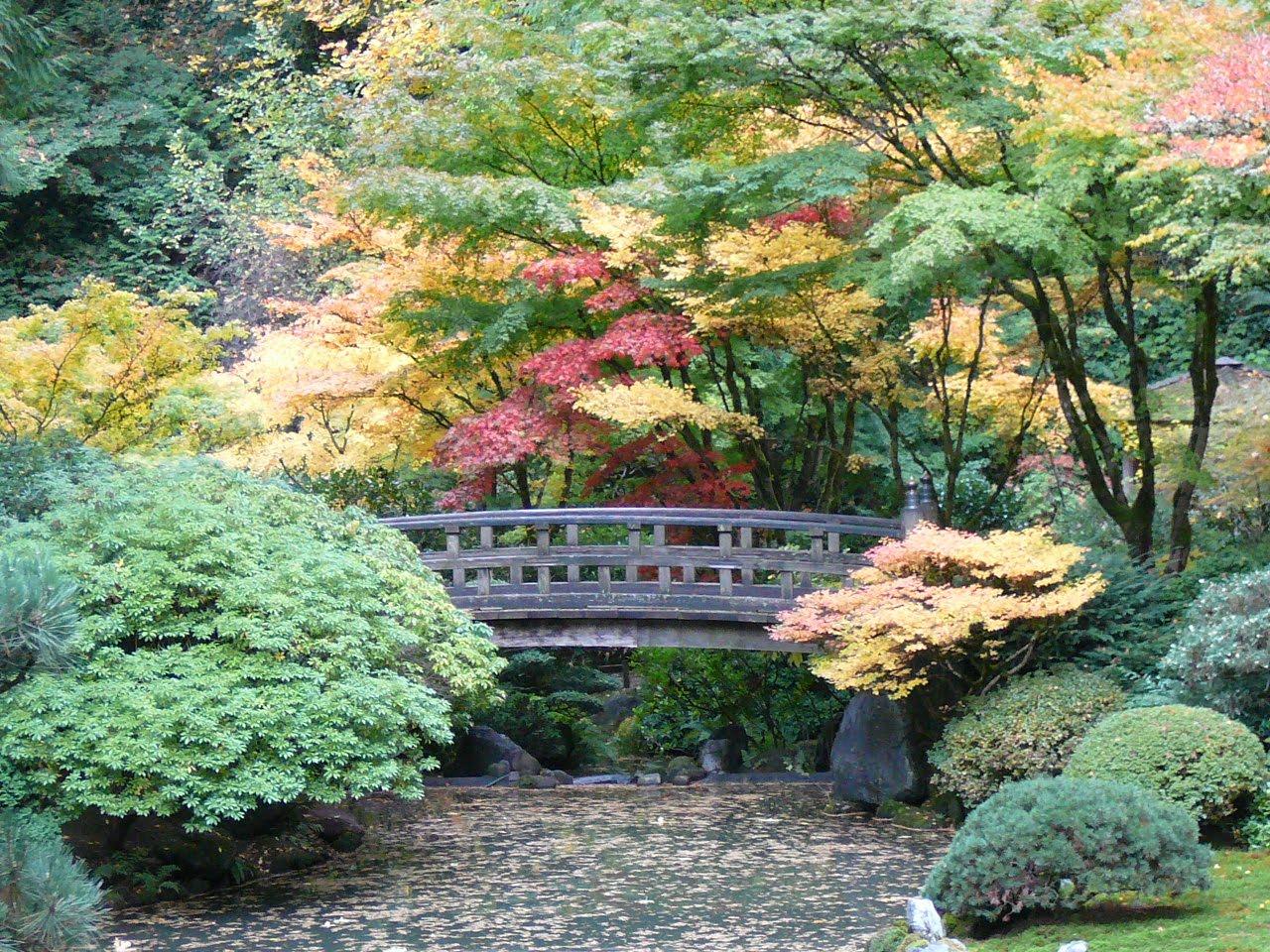 Millstones Japanese Gardens Portland Or