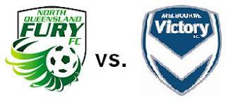 North Queensland Fury FC vs Melbourne Victory
