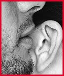 Los sussurros al oído...