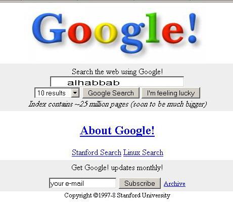google 1997. dresses In 1997, Google#39;s