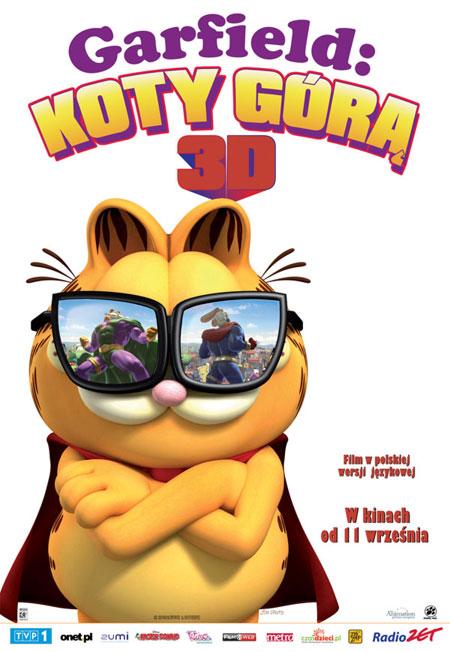 garfieldsuperheroi baixarmegaupload Baixar Filme   Garfield 3D   Um Super Herói Animal   AVI DVDRip