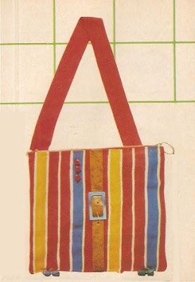 Mis revistas de manualidades bolsas y carteras de tela - Bolsas de tela manualidades ...
