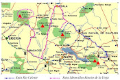 Mapa para llegar al V. Rincón de la vieja