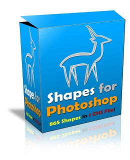 865 Shapes Para Photoshop