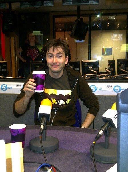 David Tennant on Radio Five Live