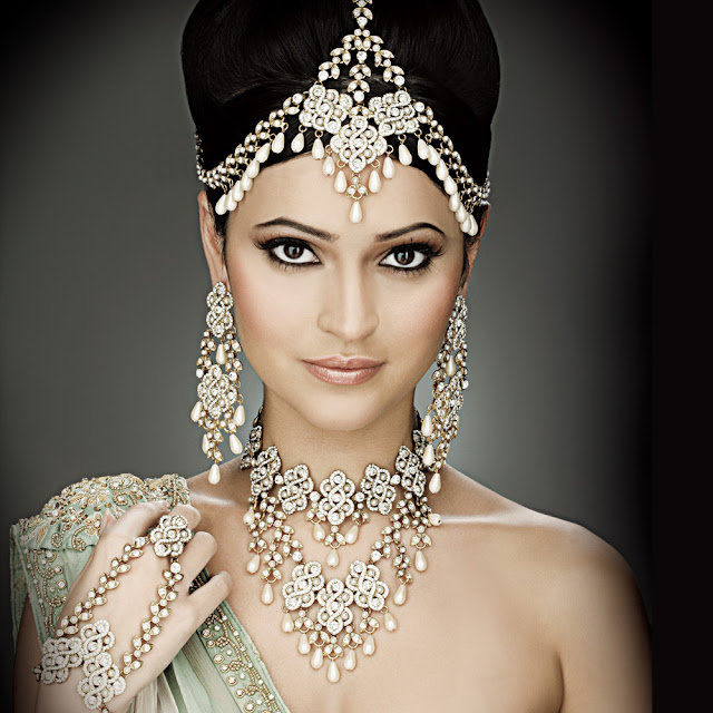 Sweet Bridal Jewellery Design Bridal Jewelry On Beautiful Brides