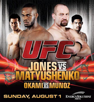 Watch UFC on Versus 2 Jones vs Matyushenko Free Online Live Stream