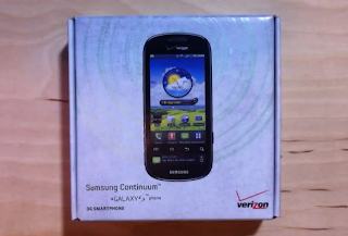 Unboxing: Samsung Continuum Galaxy 5