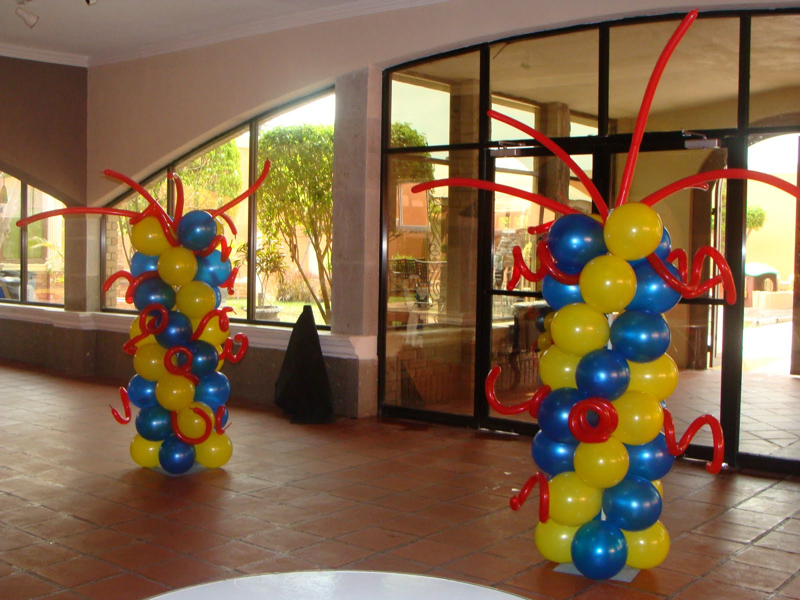 Decoraciones De Globos De Cars 1600 x 1200