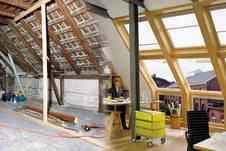 Unter dem Dach lang gehegte Wohnträume erfüllen