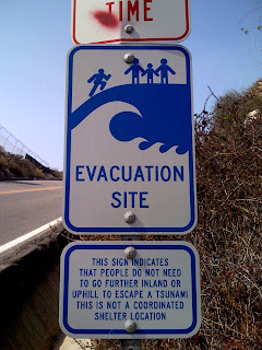 Tsunami Evacuation Site - Dana Point, CA
