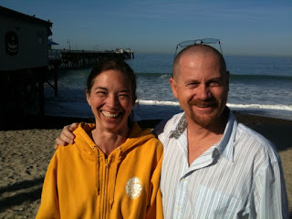 @LisaMcClure & @Respres at the San Clemente Pier