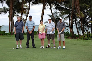 Puerto Rico Golf Course Palmas del Mar, with golf bloggers