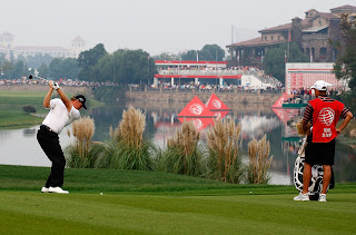 Ernie Els, Sheshan 18th hole