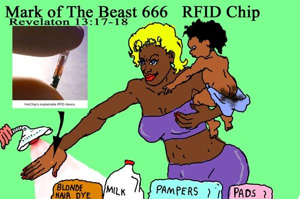 RFID Microchip 666
