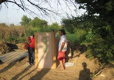 la costruzione della compostiera