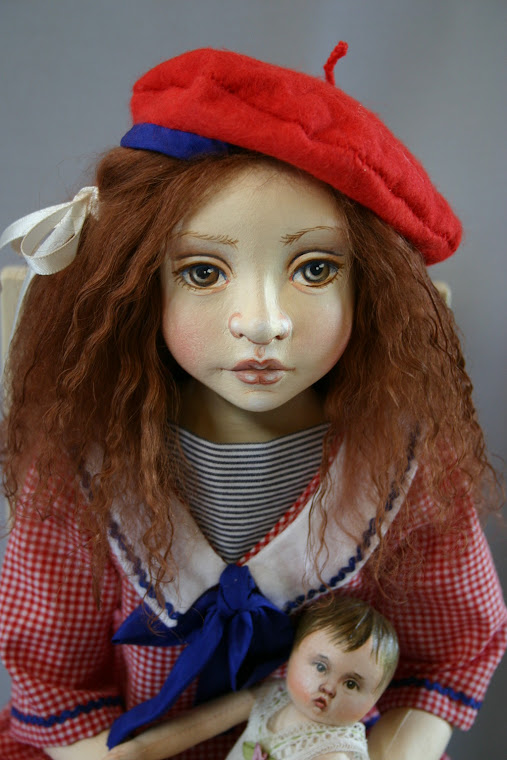 Rosalind in her red hat SOLD
