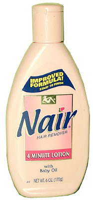manscaping with nair