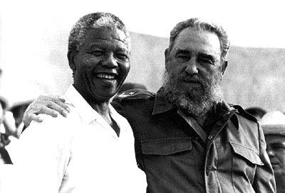 Bal d'hypocrites pour Mandela : quand l'Occident soutenait Pretoria (Rue 89) dans International fidel+nelson