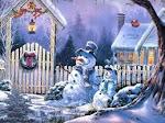 Snowmen's Welcome
