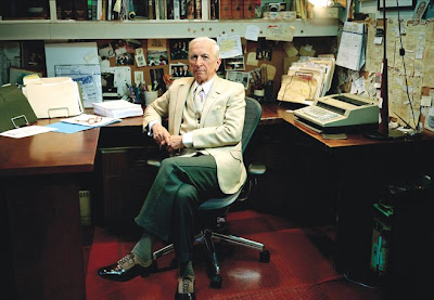 There is nothing understated about the dress of author Gay Talese, ...