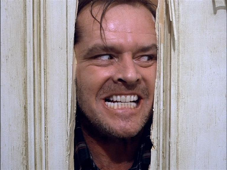 ... Onion Sandwiches: REDRUM in THE SHINING: Examples of terror and horror